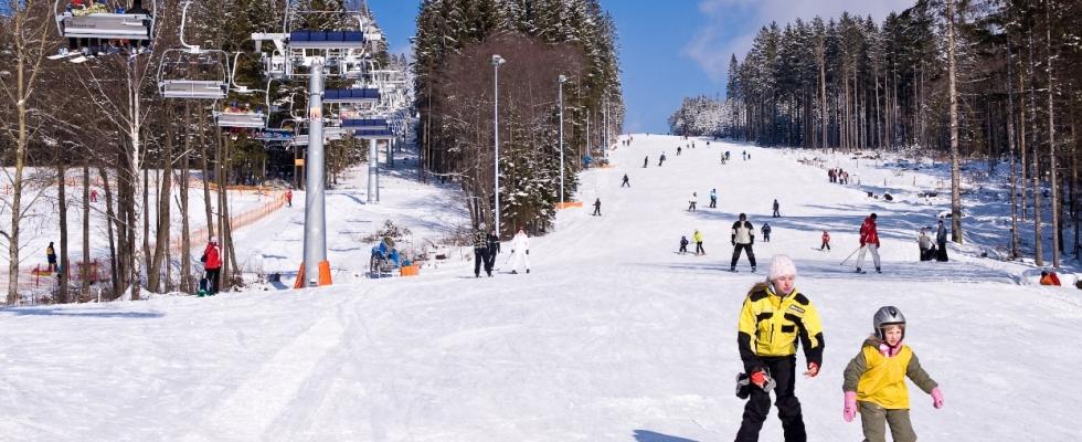 Skiareál Lipno lyžování