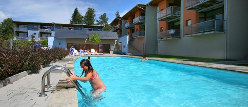 Ubytování Lipno s bazénem